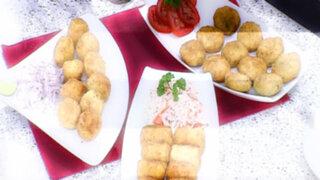 Lorena y Nicolasa: Prepare unas ricas croquetas japonesas con sabores criollos