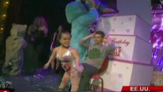 Joe Jonas celebra su cumpleaños con 'strippers' de baja estatura
