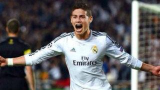 Bloque Deportivo: James Rodríguez anotó su primer gol con el Real Madrid