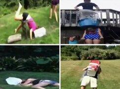 Divertidos intentos fallidos del reto 'Ice Bucket Challenge' que quedarán para el recuerdo