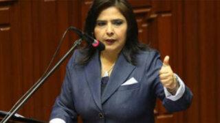 Comisión de Inteligencia determina que Ana Jara no tuvo responsabilidad en presunto espionaje