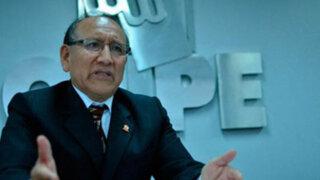 ONPE advierte riesgo de nuevos pedidos de revocatoria tras elecciones de octubre