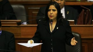 """Ana Jara apoya a Humala y dice que Caso López Meneses es """"corrupción policial"""""""