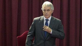 Diego García Sayán renunció a candidatura para Secretaría General de la OEA