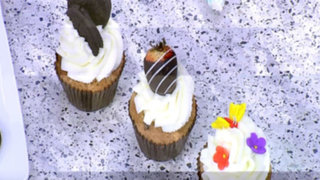 Lorena y Nicolasa: prepare unos cupcakes de galletas de chocolate