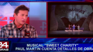 Musical 'Sweet Charity' termina exitosa temporada en el Teatro Municipal