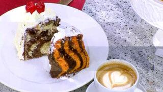 Lorena y Nicolasa: cómo preparar una torta 'animal print' para cumpleaños