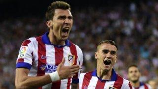El Atlético campeón de la Supercopa española: venció 1-0 al Real Madrid