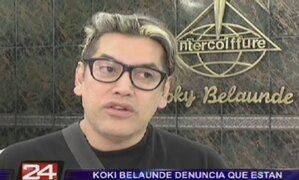 Koki Belaunde denuncia que están usando su imagen sin su permiso