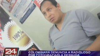 Colombiana denuncia a radiólogo por fotografiarla desnuda en consultorio
