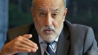 Ejecutivo evaluaría salida del ministro de Energía y Minas Eleodoro Mayorga