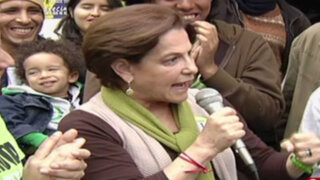 Baile en campaña: Villarán habla sobre denuncias de Contraloría