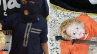 Difunden imágenes de Yihadistas enseñando a niños a decapitar