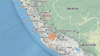 Sismo de 6,6 grados sacudió el sur del Perú y provocó alarma