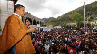 Presidente Humala: En este Gobierno no hay lobbies ni ministros que van a suites