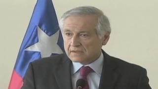 Canciller chileno descarta intervención de Estados Unidos en controversia limítrofe