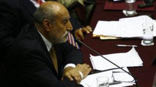 Congreso inició interpelación al ministro de Energía y Minas Eleodoro Mayorga