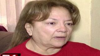 Anciana vive drama en su búsqueda de pensión de la ONP