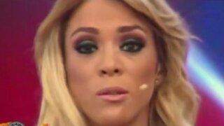 Sheyla Rojas asegura estar tranquila tras 'ampay' con Patricio Parodi