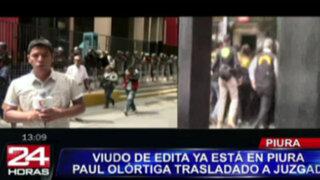 Familiares y abogados de Paul Olórtiga denuncian 'cortina de humo'