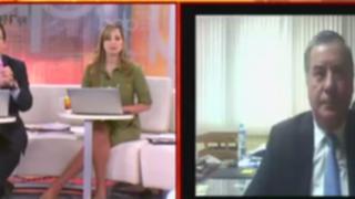 Óscar Valdés pide a Ana Jara reestructurar el Gabinete Ministerial