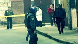 Detonan explosivo en edificio de San Miguel: cámaras de seguridad registraron atentado