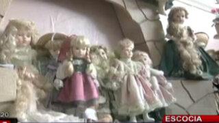 Extraña colección de muñecas embrujadas sorprende en Escocia