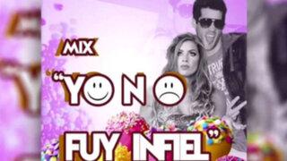 Parodian escándalo de Guty Carrera con canción 'Yo no fui infiel'