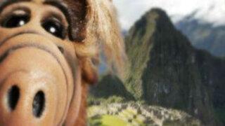 Espectáculo internacional: selfie de 'Alf' en Machu Picchu invade redes sociales