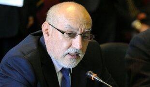 Eleodoro Mayorga reiteró que no renunciará al cargo de ministro