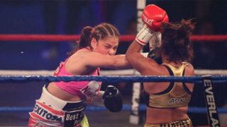 Revive lo más saltante de la pelea de Linda Lecca ante Guadalupe Martínez
