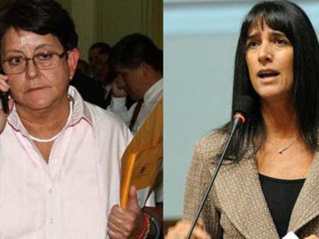 Congresistas Lourdes Alcorta y Gabriela Pérez del Solar cambian de bancada