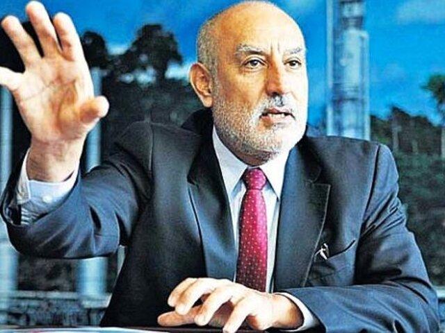 Oposición presentó moción de censura contra el ministro Eleodoro Mayorga Alba