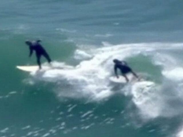 Costa Verde: ciudadanos reinician prácticas de Surf