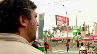 Candidatos sin ley: bombardeo de publicidad electoral en Lima