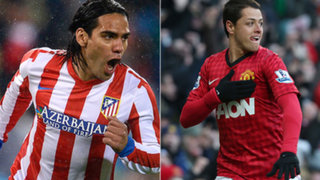 Radamel Falcao al Manchester y 'Chicharito' Hernández al Real Madrid
