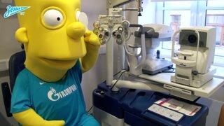 El Zenit de Rusia fichó a Bart Simpson para afrontar la Champions League