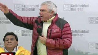 Elecciones 2014: Castañeda convoca a marcha tras exclusión de su candidatura