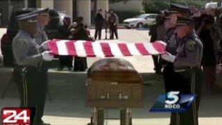 EEUU: despiden con honores a perro policía que murió cumpliendo su labor