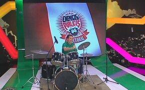 Rafael Santos: el candidato a Pueblo Libre y su talento para tocar la batería