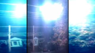 VIDEO: captan impresionante bola de fuego en cable de tensión eléctrica