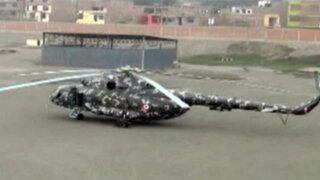 Santa Clara: helicóptero del Ejército aterrizó de emergencia en fábrica
