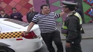 Corredor Azul: detienen a taxistas y colectiveros por circular en vías prohibidas
