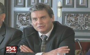 Daniel Figallo se presentó ante la comisión Áncash del Congreso
