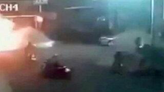 Truco de petardos terminó mal durante filmación de película en Taiwán