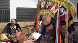 Grupo de rock en 'quechua' será telonero en concierto de Rata Blanca