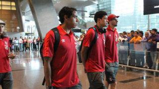La bicolor llegó a Qatar para segundo amistoso de su gira por el Medio Oriente