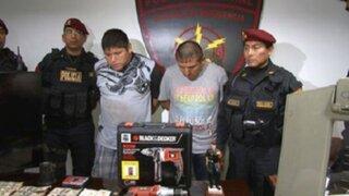 VMT: capturan a integrantes de banda 'Los Huaralinos del Sur'