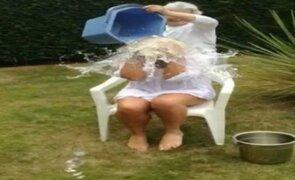 VIDEO: mujer se fractura el cuello por practicar el Ice Bucket Challenge