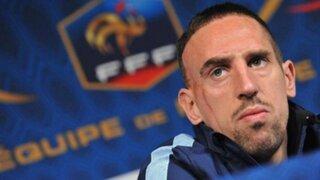Platini advierte que Ribery será sancionado si no juega con Francia